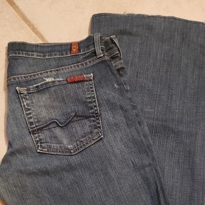 7 for All Mankind low rise Jeans size 30